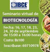 Seminario Virtual de Biotecnología