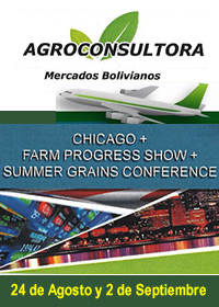 AgroConsultora Mercados Bolivianos los invita a participar del 2do. viaje de capacitación a Chicago, Farm Progress Show, Summer Grains Conference