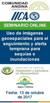 Uso de imágenes geoespaciales para el seguimiento y alerta temprana para sequías e inundaciones