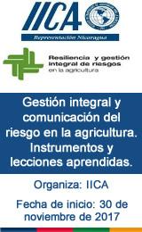 Gestión integral y comunicación del riesgo en la agricultura. Instrumentos y lecciones aprendidas.