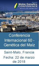 60 Conferencia Internacional - Genética del Maíz