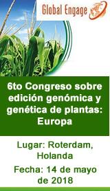 6to Congreso sobre edicióngenómica y genética de plantas: Europa