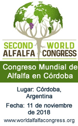 Congreso Mundial de Alfalfa en Córdoba