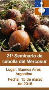 21º Seminario de cebolla del Mercosur
