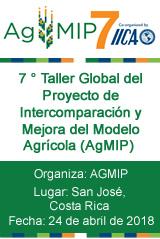 7 ° Taller Global del Proyecto de Intercomparación y Mejora del Modelo Agrícola (AgMIP)