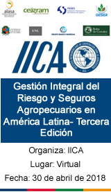 Gestión Integral del Riesgo y Seguros Agropecuarios en América Latina- Tercera Edición