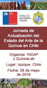 Jornada de Actualización del Estado del Arte de la Quínoa en Chile: