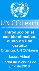 Introducción al cambio climático: curso on line gratuito