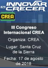 III Congreso Internacional CREA