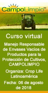 Curso Virtual: Manejo Responsable de Envases Vacíos de Productos para la Protección de Cultivos, CAMPOLIMPIO