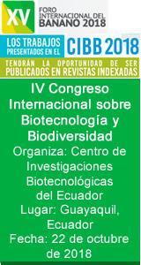 IV Congreso Internacional sobre Biotecnología y Biodiversidad