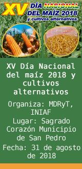 XV Día Nacional del maíz 2018 y cultivos alternativos