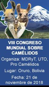 VIII CONGRESO MUNDIAL SOBRE CAMÉLIDOS