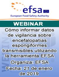 Seminario Web: Cómo informar datos de vigilancia sobre encefalopatías espongiformes transmisibles utilizando la herramienta EFSA