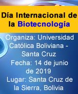 Día Internacional de la Biotecnología - Santa Cruz, Bolivia