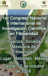 1er Congreso Nacional e Internacional de Investigación Científica en Fitosanidad