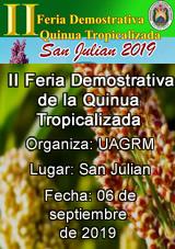 II Feria Demostrativa de la Quinua Tropicalizada