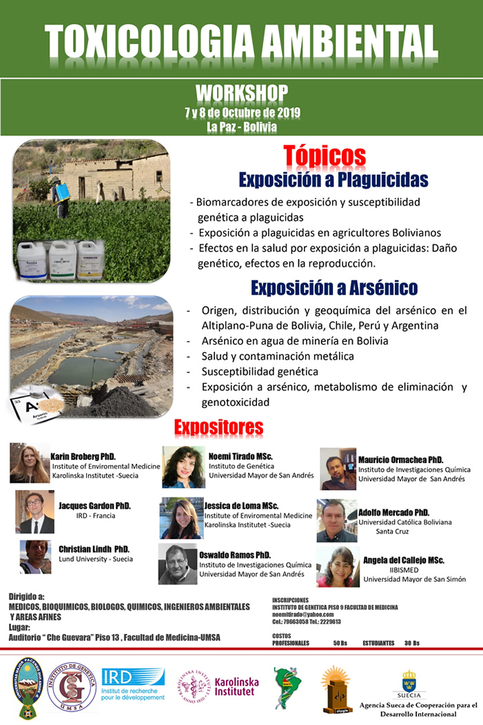 Workshop: Toxicología Ambiental