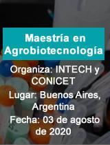 Maestría en Agrobiotecnología