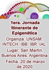 1era. Jornada Itinerante de Epigenética