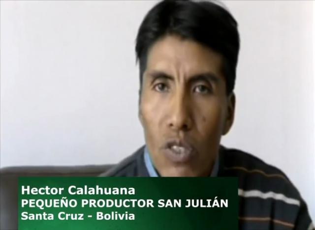 #HéroesQueAlimentan 2. Hector Calahuana - Productor de San Julían