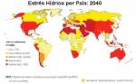 Los 33 países con más probabilidades de tener escasez de agua en 2040