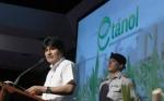 Morales promulga Ley del Etanol y da paso a era de biocombustibles en Bolivia