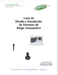 Guía de Diseño e Instalación de Sistemas de Riego Automático