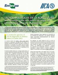 Lechos biológicos en la agricultura: una tecnología viable para reducir los riesgos de contaminación por el uso de plaguicidas
