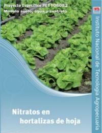 Nitratos en hortalizas de hoja