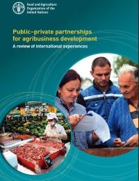 Asociaciones público-privadas para el desarrollo de agronegocios  Una revisión de experiencias internacionales