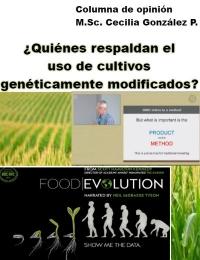 ¿Quiénes respaldan el uso de cultivos genéticamente modificados?