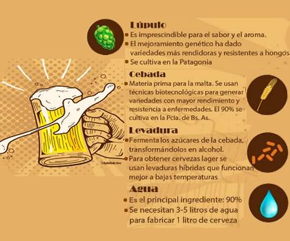 Una bebida biotecnológica milenaria: la cerveza