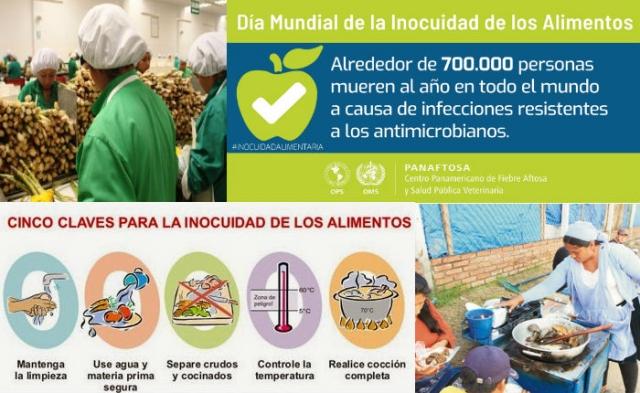 Día Mundial de la Inocuidad Alimentaria 2019
