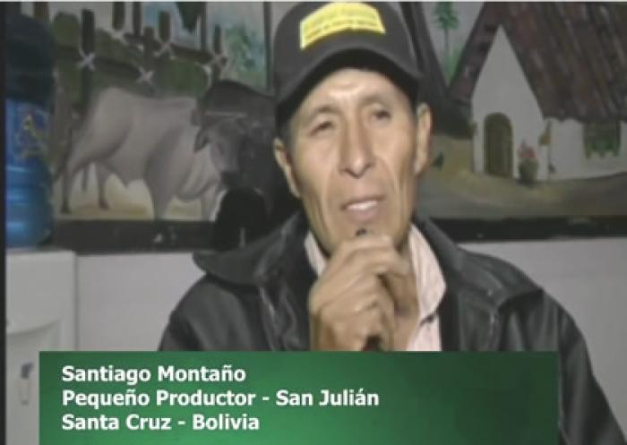 #HéroesQueAlimentan 1. Santiago Montaño - Productor de San Julían